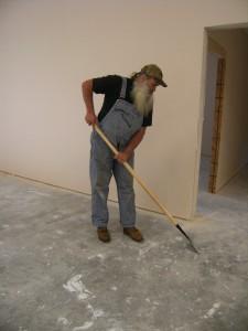 Fellowship Hall Cleanup First Presbyterian Church Huntsville Arkansas