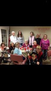 First Presbyterian Church Huntsville Arkansas Women's Group 2014