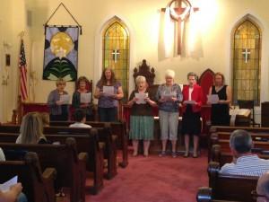 First Presbyterian Church Huntsville Arkansas Women's Group - Mother's Day 2015