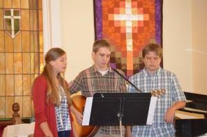 Youth Sunday 2015 First Presbyterian Church Huntsville Arkansas
