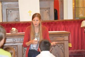 The Children's Message - Youth Sunday First Presbyterian Church Huntsville Arkansas