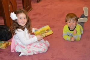 Kids at play First Presbyterian Church Huntsville Arkansas